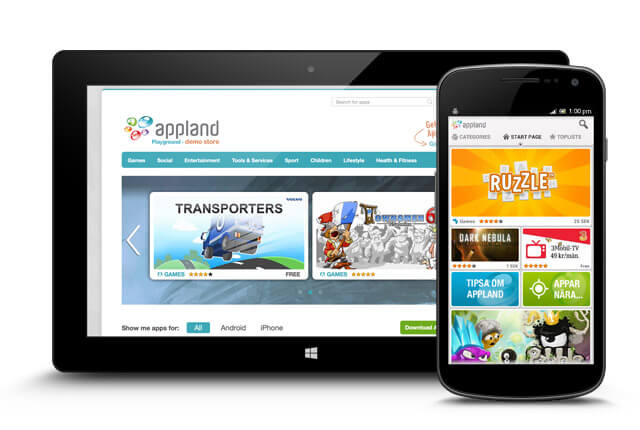 b2c app management from Appland
