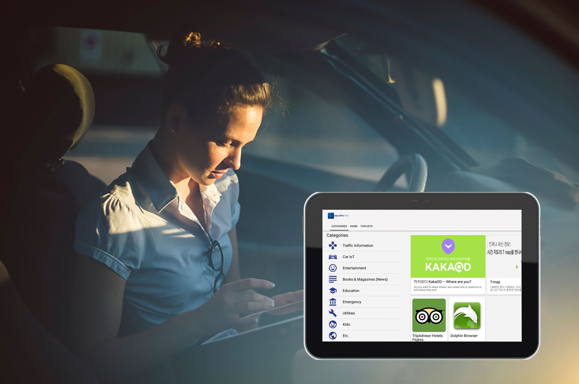 app store for connected vehicles automotive