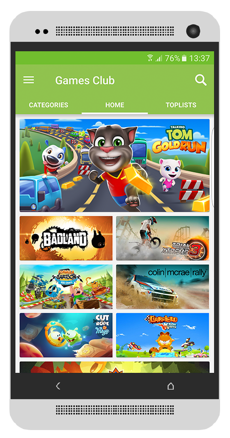 Appland Mobile VAS Service Games App Store Subscription Club a value added services solution