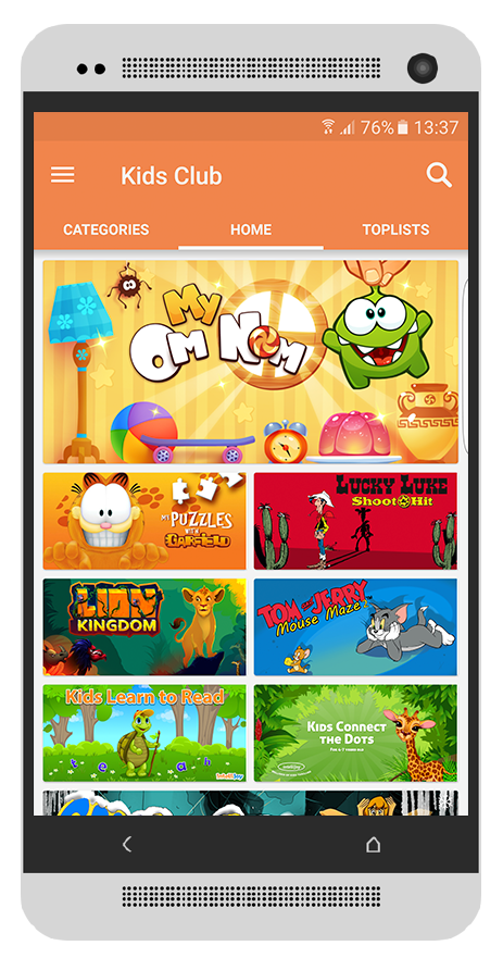 Kids Subscription Club - The Mobile VAS Service consumers love